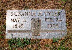 Susanna <i>Hatfield</i> Tyler