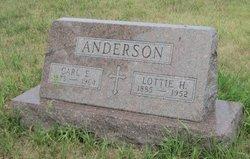 Lottie Helen <i>Asplund</i> Anderson