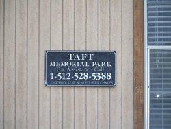 Taft Memorial Park