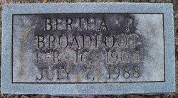 Bertha Mae <i>Perkins</i> Broadfoot
