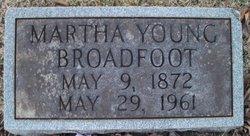 Martha Lavinia <i>Young</i> Broadfoot