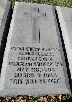 Ens Oscar Sherwood Adams