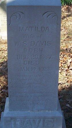 Matilda <i>Sipe</i> Davis