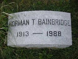 Norman Thomas Bainbridge, Sr