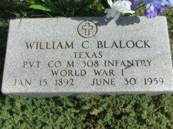 William Claude Blalock, Sr