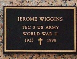 Jerome Jerry Wiggins