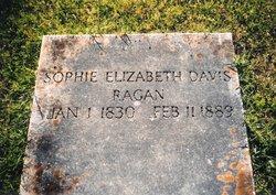 Sophie Elizabeth <i>Davis</i> Ragan