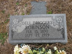 Lodell Dell <i>Driggers</i> Robinson