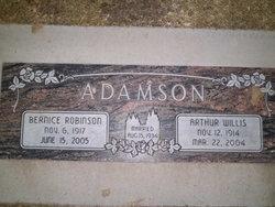 Bernice <i>Robinson</i> Adamson