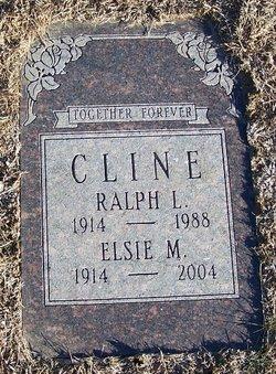 Elsie Marie Thornton <i>Huss</i> Cline