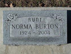 Norma Delphine Burton