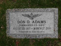 CDR Don D Adams