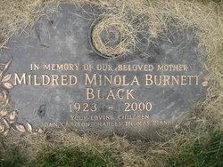 Mildred Minola <i>Burnett</i> Black