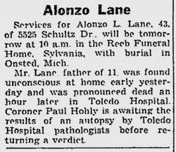 Alonzo Leroy Lane