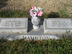 Bernice <i>Spencer</i> Hamilton