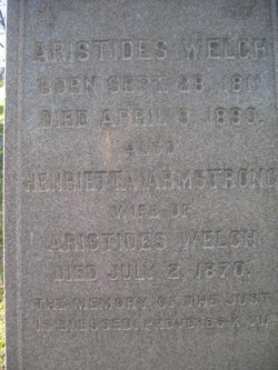 Henrietta <i>Armstrong</i> Welch