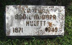 Addie May <i>Dorr</i> Hulett