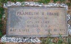 Franklin E. Pease