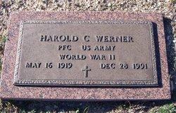 Harold C Werner