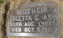 Lucetta Clarissa <i>Hatch</i> Ash