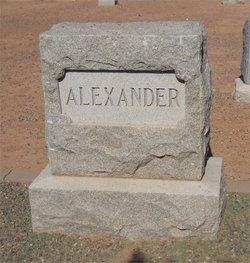 Nettie Irene <i>Wooley</i> Alexander