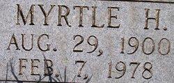 Myrtle Hattie <i>Gilley</i> Smith