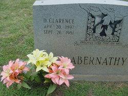 D Clarence Abernathy