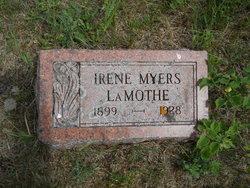 Irene <i>Myers</i> LaMothe
