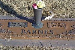 Willis Ussery Bill Barnes