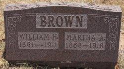 Martha Ann <i>Chenoweth</i> Brown