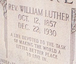 Rev William Luther Moore
