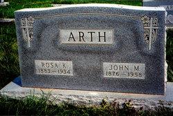 John Martin Arth
