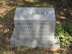 Bertha <i>Connell</i> Clark