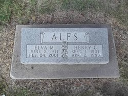 Elva Mae <i>Jennings</i> Alfs