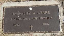 Dorothy A <i>Waldron</i> Abare