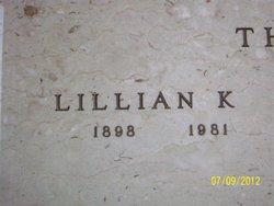Lillian Katherine <i>Mehegan</i> Thayer