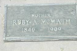 Ruby Alvira <i>Melvin</i> McMath