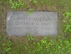 Lowell P Anderson