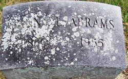 Fanny L. <i>Gulick</i> Abrams