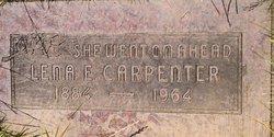 Lena E Carpenter