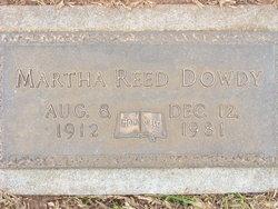 Marth <i>Reed</i> Dowdy