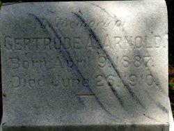 Gertrude <i>Askew</i> Arnold