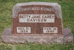 Betty Jane <i>Garey</i> Davison