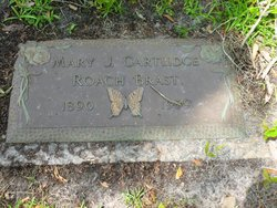 Mary J. Cartlidge Roach Brast