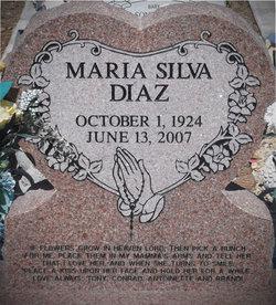 Maria <i>Silva</i> Diaz