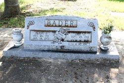 Ima Othelia <i>Leinweber</i> Bader