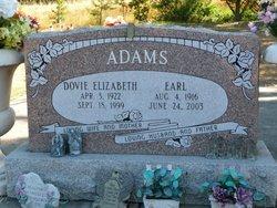 Dovie E. <i>Rowland</i> Adams