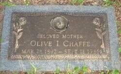 Olive I <i>Ezell</i> Chaffe