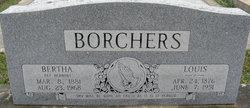 Bertha <i>Herbort</i> Borchers