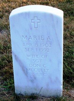 Marie A McCully